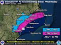 Snow Amounts Have Increased For Eastern North Carolina
