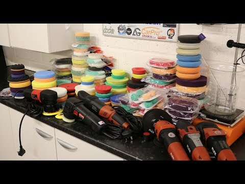 Best Polishing Pads for Cars - Foam Pads Review Part 1