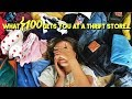 What I Got For $100 At Goodwill! ☆ Try On Thrift Haul