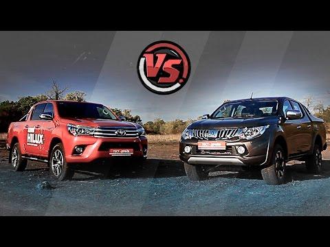 2hp: Toyota Hilux VS Mitsubishi L200