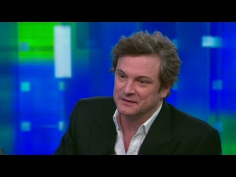 CNN Official Interview: Actor Colin Firth talks love scenes