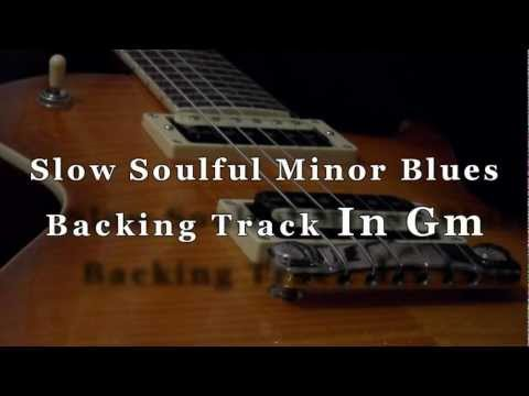 backing track blues