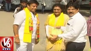 Kukatpally TDP Candidate Nandamuri Suhasini Filed Nomination For Assembly Polls
