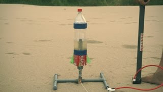 How to Make a Water Rocket With Plastic Bottle