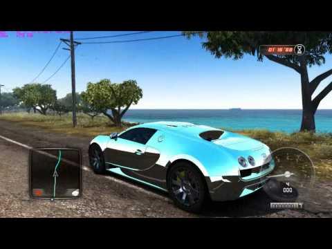 Test Drive Unlimited 2 - Bugatti Veyron  Dubai Edition video
