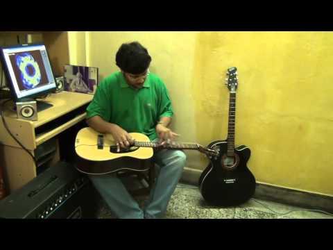 Rote Hue Aate Hai Sab-Film-Muqqadar Ka Sikandar on Electricguitar...