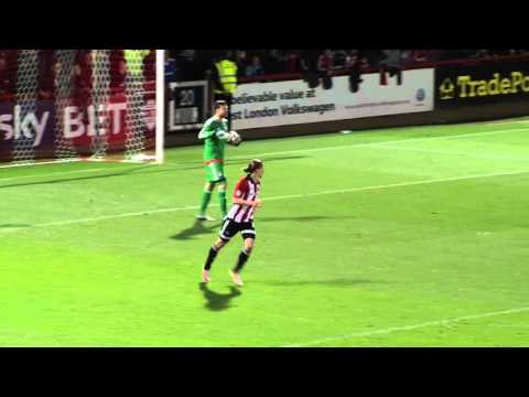 HIGHLIGHTS: BRENTFORD 1-2 CARDIFF CITY