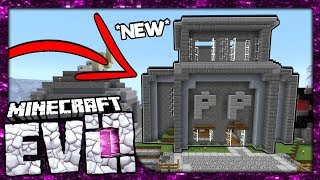 🔴 REBUILDING THE PROPERTY POLICE STATION!   Minecraft Evolution SMP Livestream