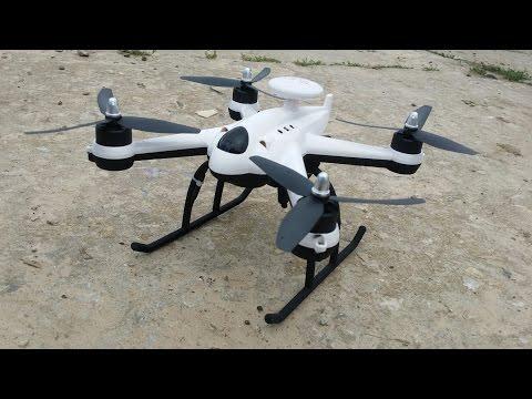 Дешевый квадрокоптер с БК моторами и GPS. Flying3d X6