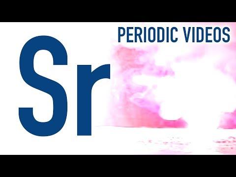 Strontium - Periodic Table of Videos