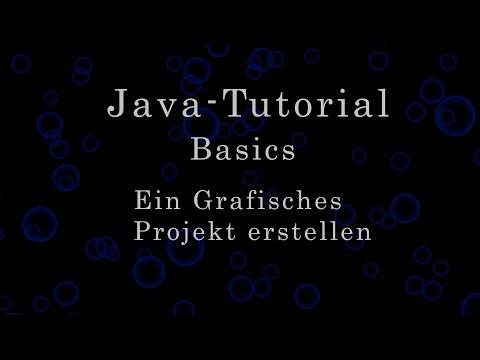 Java-Tutorial: Erstellen eines einfachen grafischen Programmes
