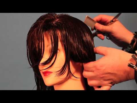 Florida Beauty Academy How to perform a medium layered haircut