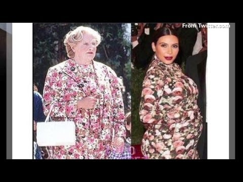 Robin Williams takes on Kim Kardashian