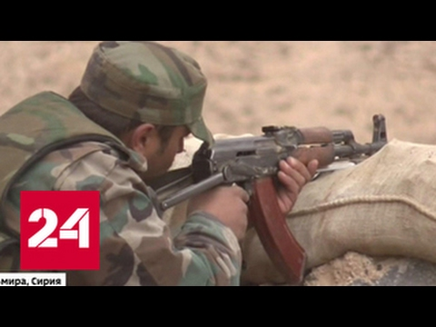 Сирия: по смертникам наносят превентивные ракетные удары