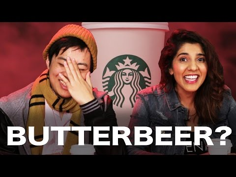 "Harry Potter Fans And Haters Review Starbucks ""Butterbeer"""