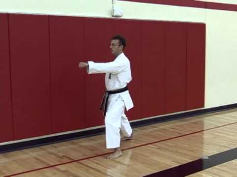 Heian Shodan - Commentary video