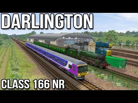 Darlington to Bishop Auckland  - Class 166 NR (Train Simulator 2014)