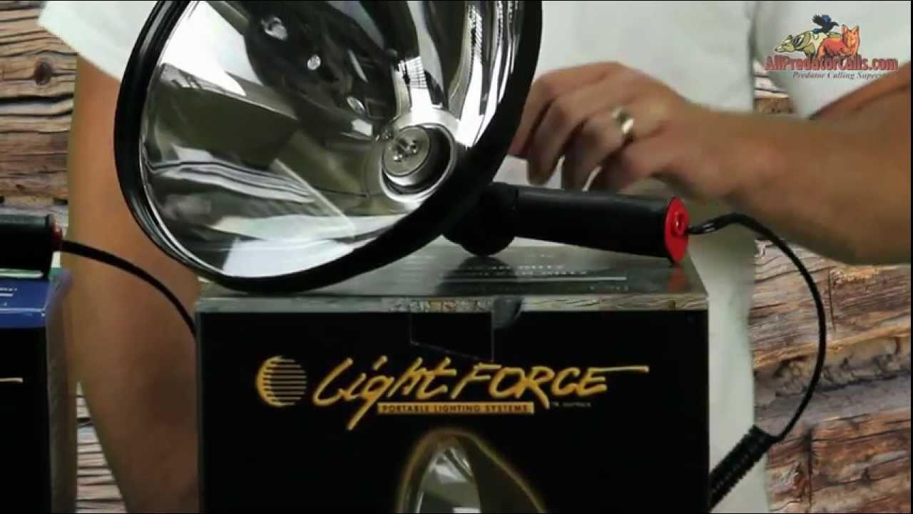 Lightforce Spotlights for Night Hunting SL140 SL170 SL240 ...