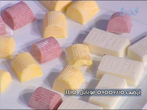 الشيكولاته البيضاء والدارك على طريقة الشيف #قدري  من برنامج #حلواني_العرب #فوود