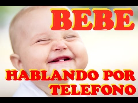 VIDEO GRACIOSO Bebes Hablando por Telefono VIDEO DE RISA