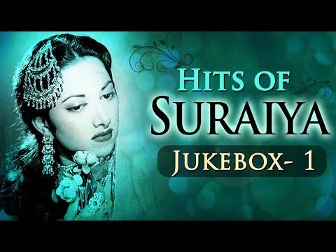 Best Of Suraiya Hits (HD) - Jukebox 1 - Evergreen Black & White Superhit Songs