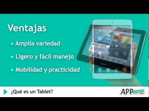 ¿Qué Es Una Tablet?  L   APPinformatica.com