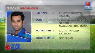 Rohit Sharma | Indian World Cup Squad | 2015