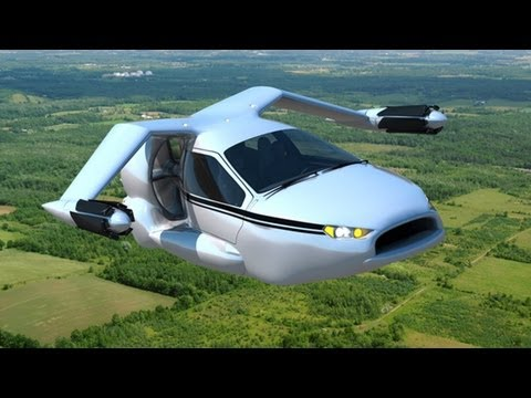 Flying Car - Terrafugia TF-X introduction