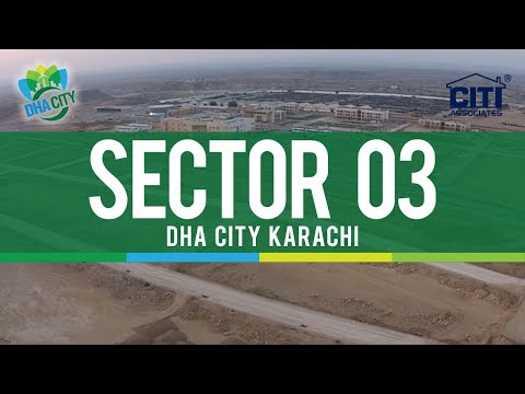 A Bird's Eye View of DHA City Karachi (Sector 3) - November 2014