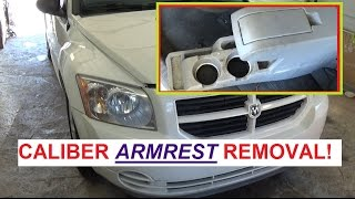 Dodge Caliber Arm Rest Removal  Armrest removal on Dodge Caliber 2007 - 2012