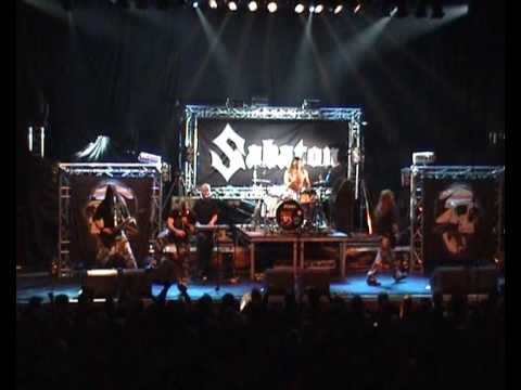 Sabaton - Cliffs Of Gallipoli (013 Tilburg, 27 February 2009)