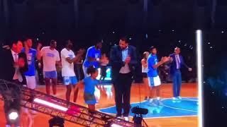 Roy Williams Does Electric Slide During Late Night with Roy