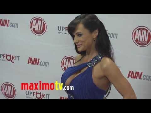 Lisa Ann at 2012 AVN AWARDS Show Red Carpet Arrivals