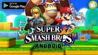 Top 5 Mejores Copias De Super Smash Bros Para Android!! || dela google play ||