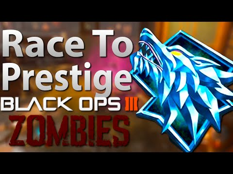 Black Ops 3 Zombies: Race To Prestige! Double XP Weekend! (Call of Duty: Black Ops 3)