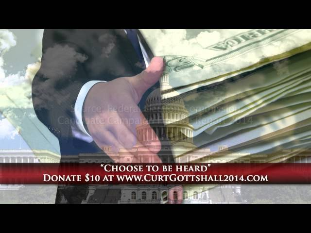 Curt Gottshall. Remove Corruption from Politics.