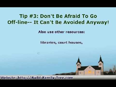 How to Research A Family Tree - 5 Easy Tips to Get You Started