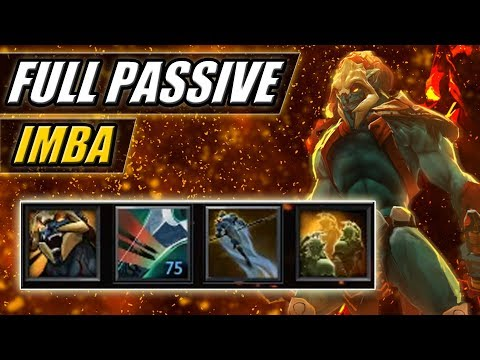 Imba Huskar Attack Speed with PL Illusions and WK Crit [Epic Ability Draft Build] Dota 2