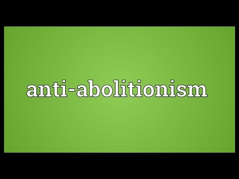 Header of Anti-Abolitionism