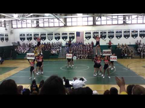 Carey high school cheer competition