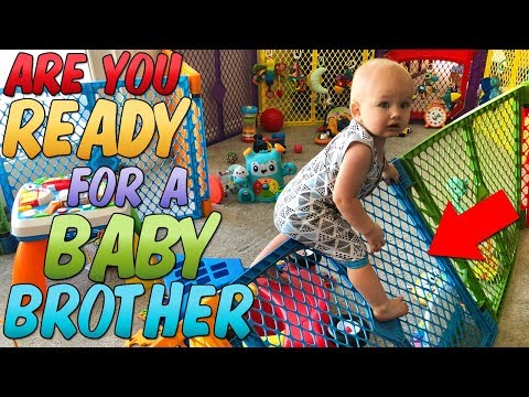 Are You Ready For A Baby Brother?