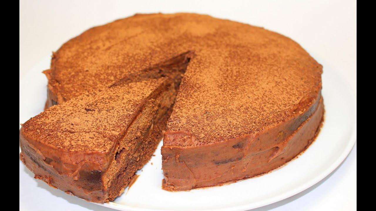 Шоколадный торт вкус детства рецепт