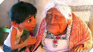 "COCO ""Love You Grandma"" Clip (Animation, Disney Pixar) - New Movie Trailers 2017"
