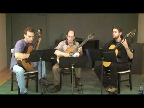 Summer Practice with Classical Guitar Trio Part V