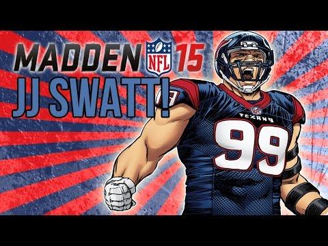 Football-NFL-Madden 15 :: JJ Swatt! :: Texans Vs. Vikings - Online Gameplay XboxOne