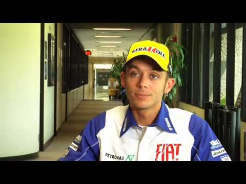 Valentino Rossi's Day At The Office