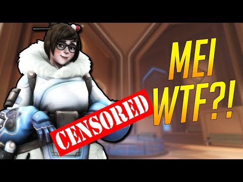 Overwatch Funny & Epic Moments - MEI WTF?! - Highlights Montage 186