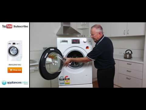 WAS28461AU 7.5kg Front Load Bosch Washing Machine Reviewed By Expert - Appliances Online