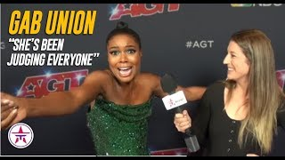 Gabrielle Union On Who Has The BEST AGT Golden Buzzer | America's Got Talent