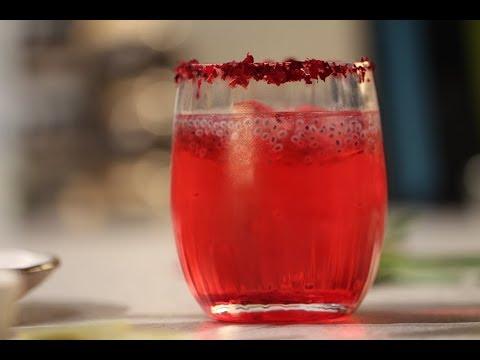 Rose Coconut Drink  | Sanjeev Kapoor Khazana
